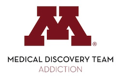 University of Minnesota Medical Discovery Team on Addiction logo
