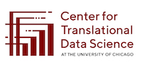 logo for the Center for Translational Data Science of the University of Chicago